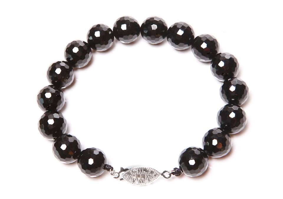 Beautiful Faceted Onyx Bracelet from Medu Jewelry – Review and Giveaway