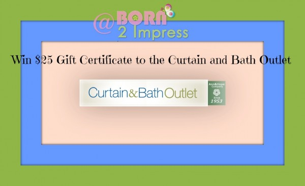 Ann & Hope – Curtain & Bath Outlet- Review and Giveaway