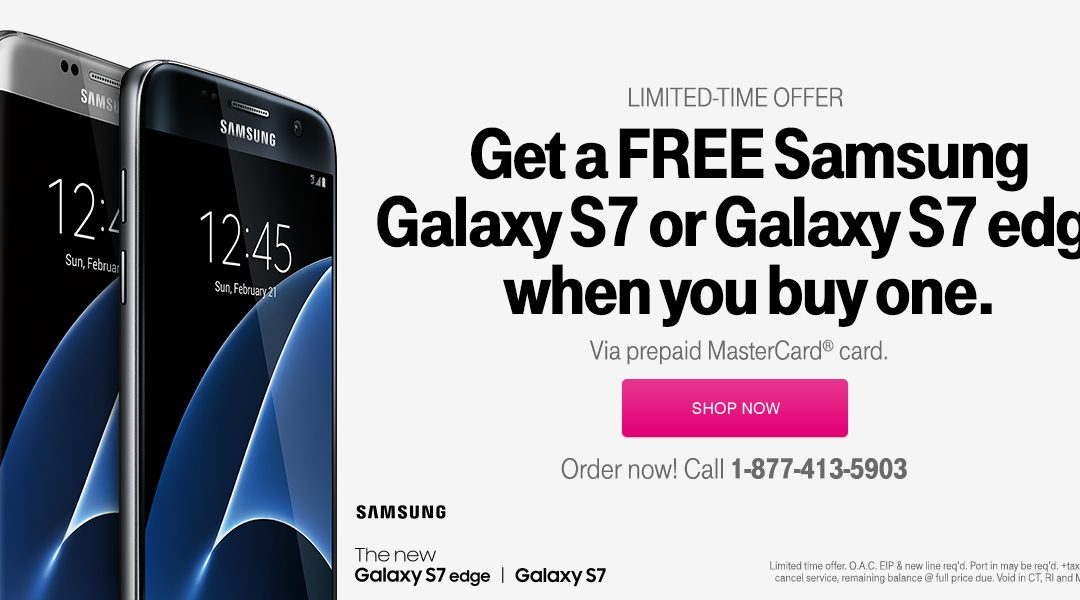 Do you know T-Mobile has a BOGO deal on the Samsung Galaxy S 7 phones? Oh yes, they do!