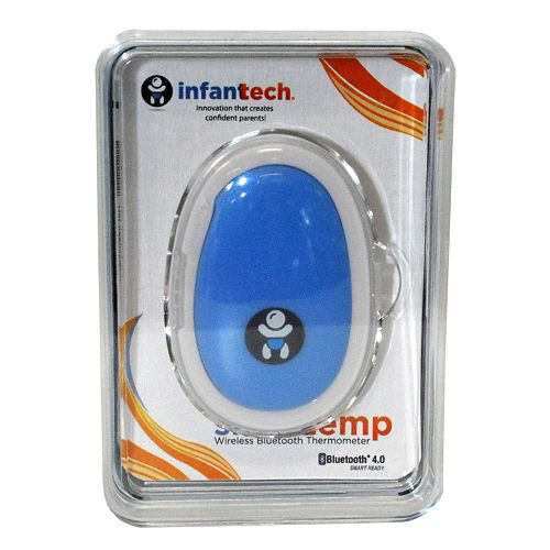 infanttech's new smarttemp offers parents a new High Tech Option to Track your Little one's Temperature Using your Smartphone