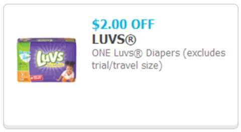Limited-time $5 Rebate onLuvs Diapers #SharetheLuv #ad