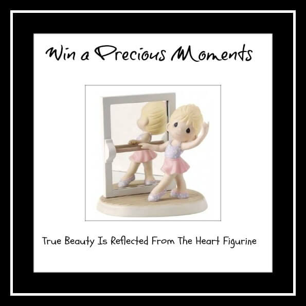 Precious Moments True Beauty Is Reflected From The Heart-  This Beautiful Ballet Inspired Figurine Is a Perfect Collection Piece