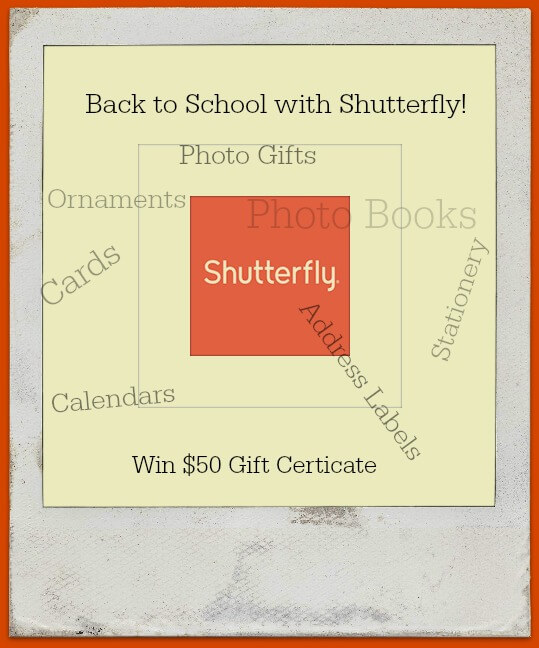 Shutterfly Mommy Cards are Perfect for the New School Year! Win $50.00 Gift Certificate