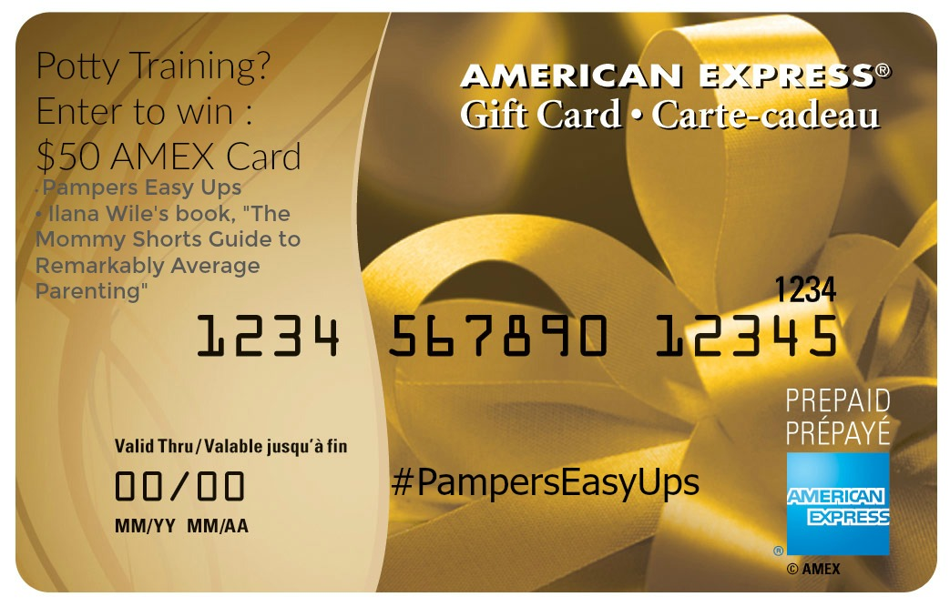 Are you Potty Training or Getting Ready to? Pampers is Here to Help – Win $50 Amex Gift Card and #PampersEasyUps