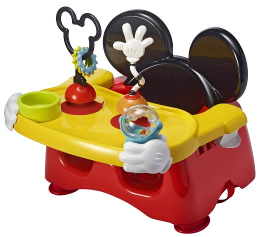 Meal Time is Fun Time with The First Years Disney Baby Helping Hands Feeding and Activity Seat