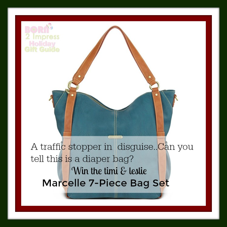 Traffic Stopper, Game Changer – You Will Love the timi and leslie Marcelle 7-Piece Bag Set this Holiday Season!