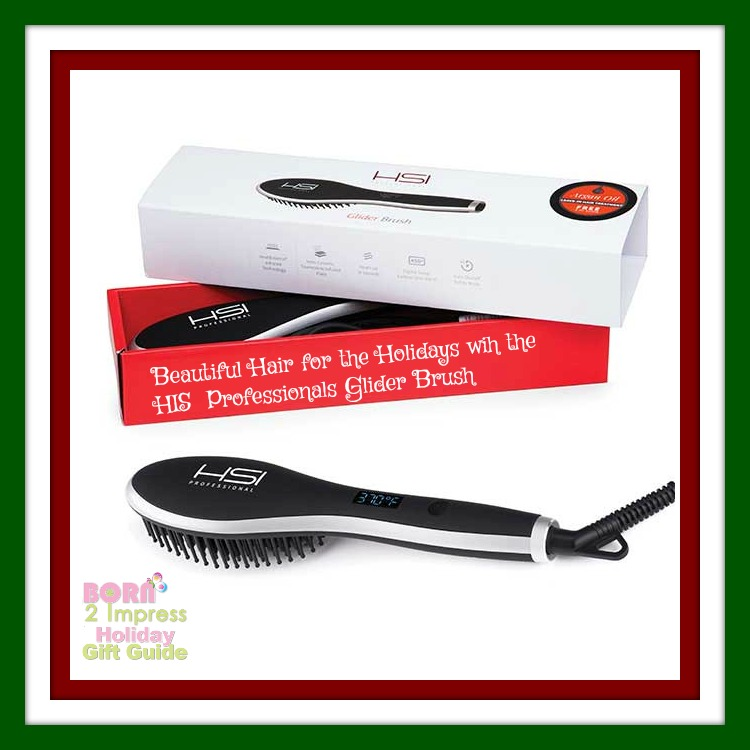This Holiday Season –  Get Beautiful Frizz-free Hair in a Matter of Minutes With the HIS Glider Brush!
