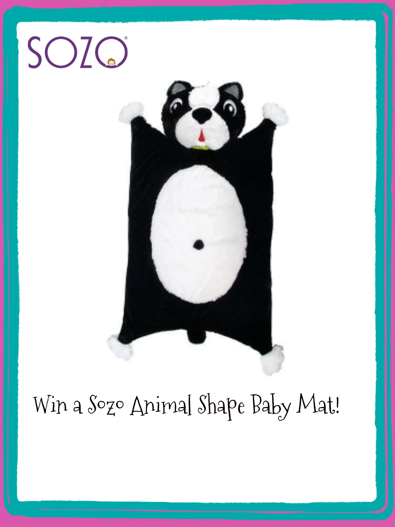 Sozo Animal Shape Baby Mats are Fun and Cute!