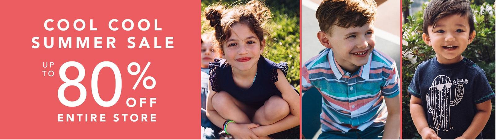 Stock Up and Save With The Gymboree Summer Sale Up To 80% Off!