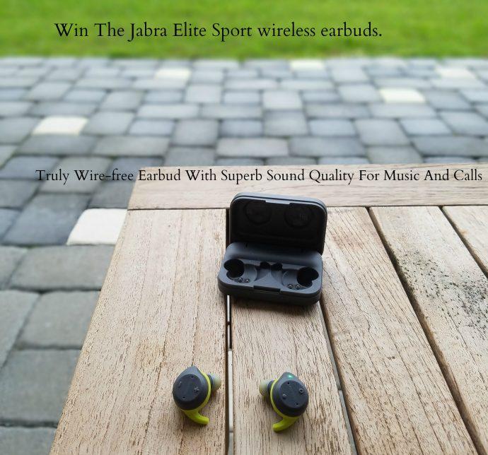 Jabra Elite Sport Wireless Earbuds  A Truly Wire-free Earbud With Superb Sound